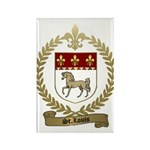 ST. LOUIS Family Crest Rectangle Magnet (100 pack)