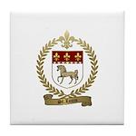 ST. LOUIS Family Crest Tile Coaster