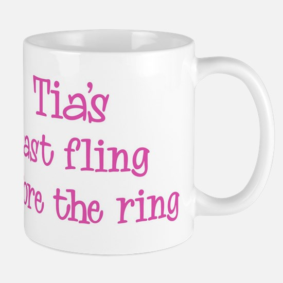 Tias last fling Mug