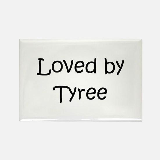 Unique Tyree Rectangle Magnet