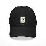 ST. PIERRE Family Crest Black Cap