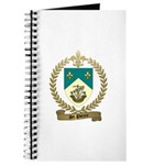 ST. PIERRE Family Crest Journal