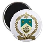 ST. PIERRE Family Crest Magnet