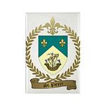 ST. PIERRE Family Crest Rectangle Magnet