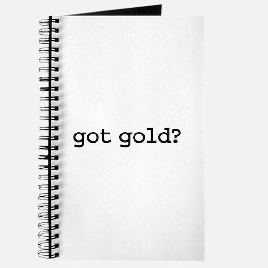 got gold? Journal