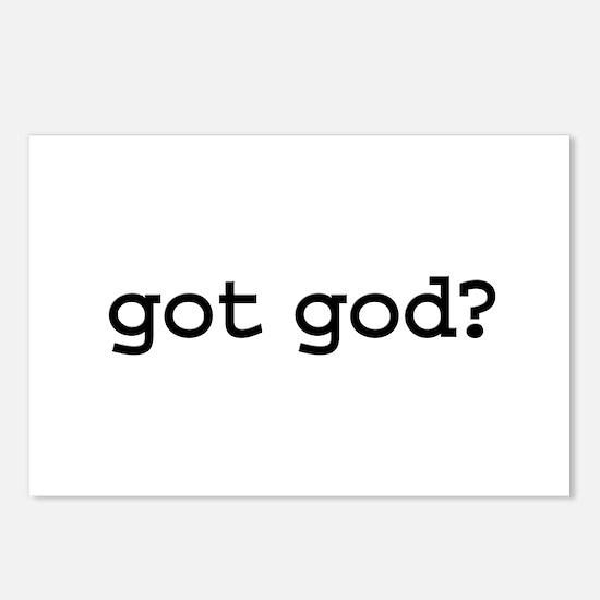 got god? Postcards (Package of 8)