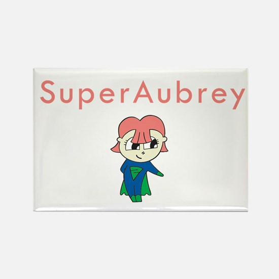SuperAubrey Rectangle Magnet