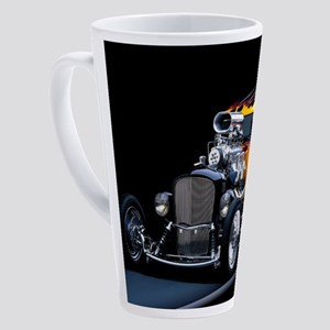 Hot Rod 17 oz Latte Mug