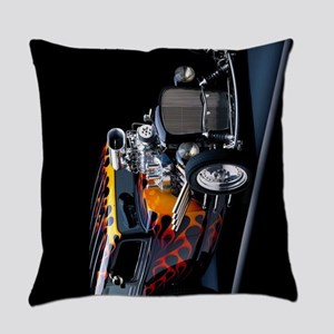 Hot Rod Everyday Pillow
