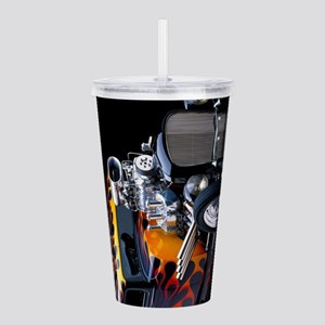 Hot Rod Acrylic Double-wall Tumbler