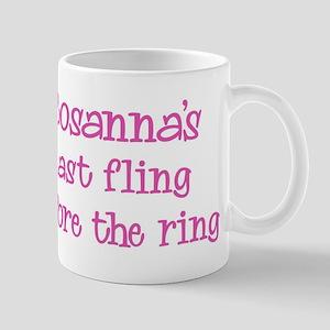Rosannas last fling Mug