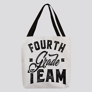 Fourth Grade Team Polyester Tote Bag