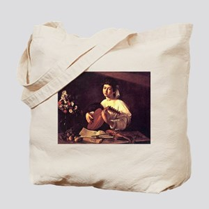 Lute Player Tote Bag