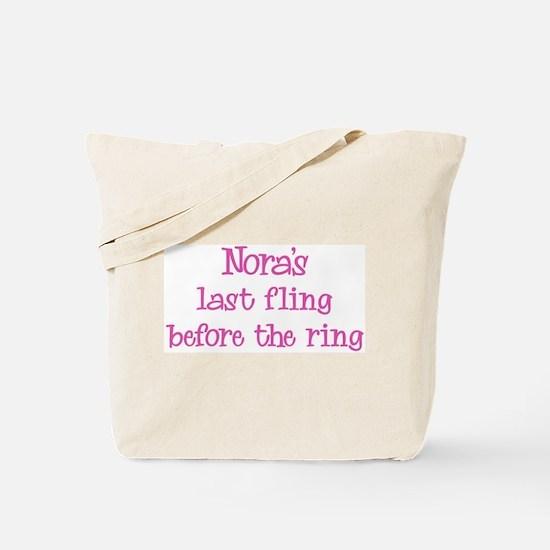 Noras last fling Tote Bag