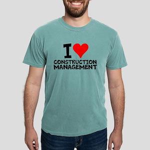 I Love Construction Management T-Shirt