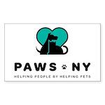 PAWS NY Sticker