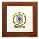 TANGUAY Family Crest Framed Tile