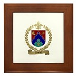 TARDIF Family Crest Framed Tile
