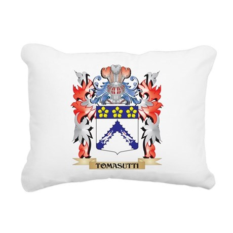 Tomasutti Coat of Arms - Rectangular Canvas Pillow
