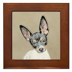 Rat Terrier Framed Tile