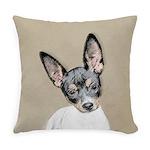 Rat Terrier Everyday Pillow