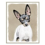 Rat Terrier Small Poster