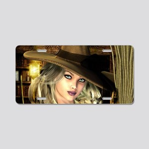Witchery Aluminum License Plate