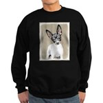 Rat Terrier Sweatshirt (dark)