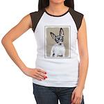 Rat Terrier Junior's Cap Sleeve T-Shirt