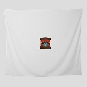 curtain call fun Wall Tapestry