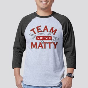 MacGyver Team Matty Mens Baseball Tee