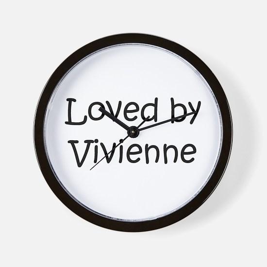 Cute Vivienne Wall Clock