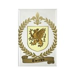 THERRIEN Family Crest Rectangle Magnet (100 pack)