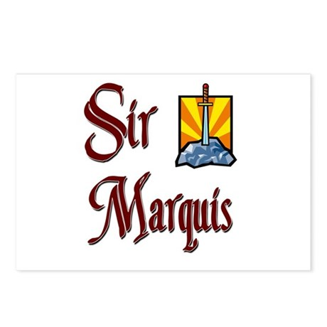 Sir Marquis Postcards (Package of 8)