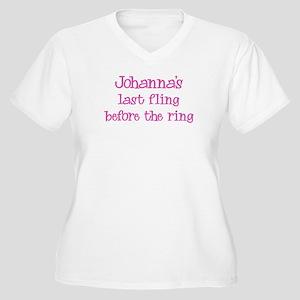 Johannas last fling Women's Plus Size V-Neck T-Shi