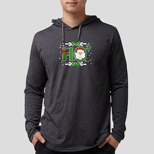 Ho3 Santa Claus Math Nerd Math Long Sleeve T-Shirt