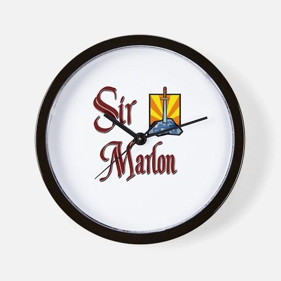 Sir Marlon Wall Clock