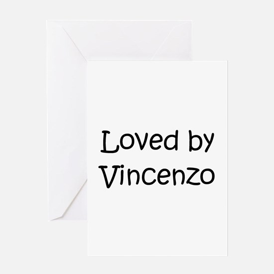 Cute Vincenzo Greeting Card