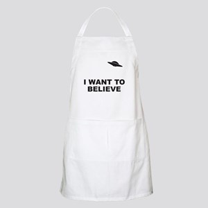 I Want To Believe BBQ Apron