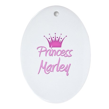 Princess Marley Oval Ornament