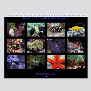 Fish and Things III Wall Calendar
