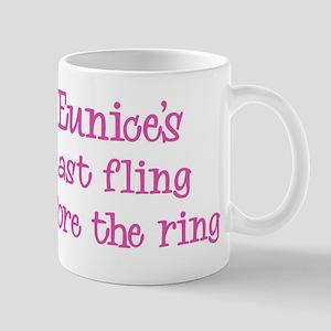 Eunices last fling Mug