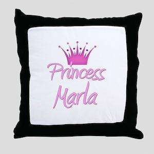 Princess Marla Throw Pillow
