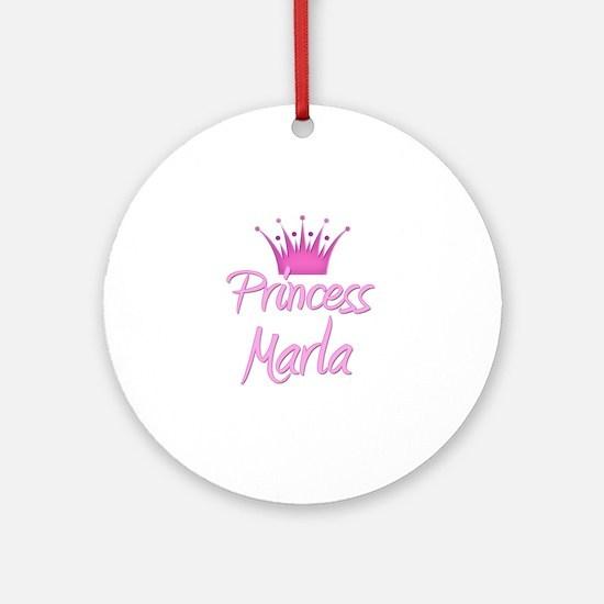 Princess Marla Ornament (Round)