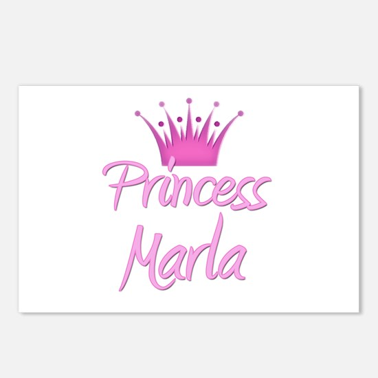 Princess Marla Postcards (Package of 8)