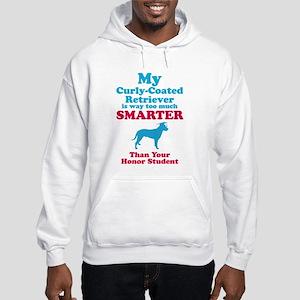 Curly-Coated Retriever Hooded Sweatshirt