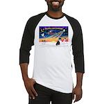 XmasSunrise/Collie #4 Baseball Jersey