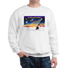XmasSunrise/Collie #4 Sweatshirt