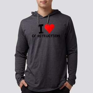 I Love Construction Long Sleeve T-Shirt