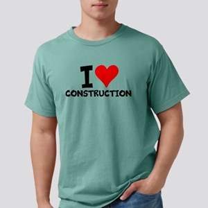 I Love Construction T-Shirt